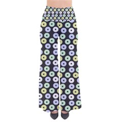 Eye Dots Grey Pastel So Vintage Palazzo Pants