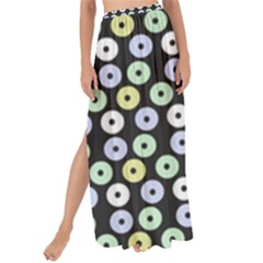 Eye Dots Grey Pastel Maxi Chiffon Tie Up Sarong