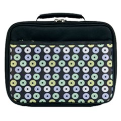 Eye Dots Grey Pastel Lunch Bag