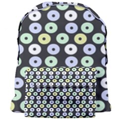 Eye Dots Grey Pastel Giant Full Print Backpack