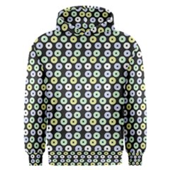 Eye Dots Grey Pastel Men s Overhead Hoodie