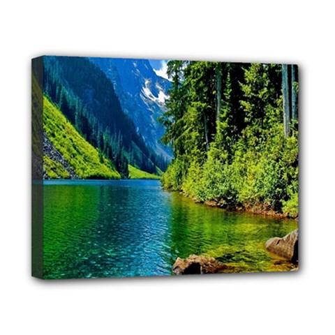 Beautiful Nature Lake Canvas 10  X 8  by Modern2018
