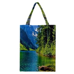 Beautiful Nature Lake Classic Tote Bag