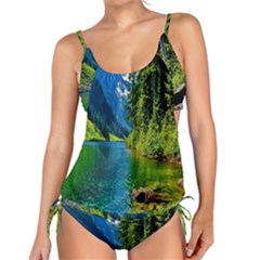 Beautiful Nature Lake Tankini Set