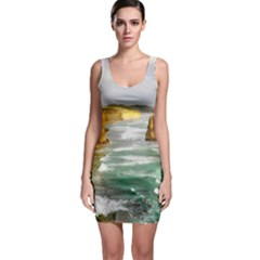 Coastal Landscape Bodycon Dress