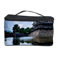 Beautiful Pagoda On Lake Nature Wallpaper Cosmetic Storage Case