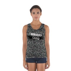 Airsoft Camo Sport Tank Top