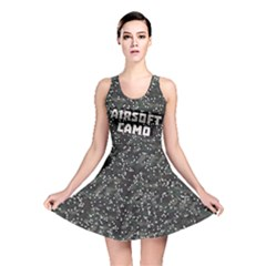 Airsoft Camo Reversible Skater Dress