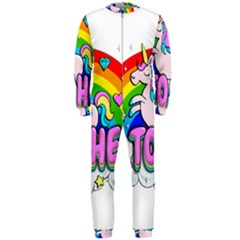 Go To Hell   Unicorn Onepiece Jumpsuit (men)