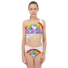 Go To Hell   Unicorn Spliced Up Swimsuit