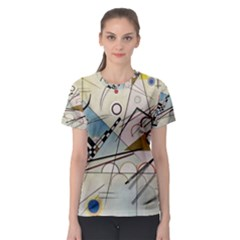Composition 8   Vasily Kandinsky Women s Sport Mesh Tee