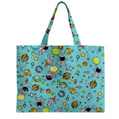 Space Pattern Medium Tote Bag