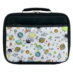 Space Pattern Lunch Bag