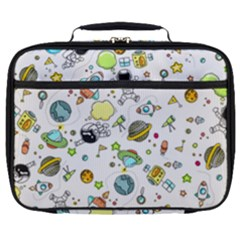 Space Pattern Full Print Lunch Bag