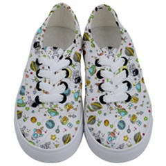 Space Pattern Kids  Classic Low Top Sneakers