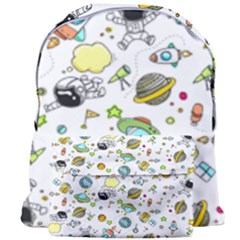 Space Pattern Giant Full Print Backpack
