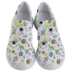 Space Pattern Women s Lightweight Slip Ons