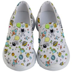 Space Pattern Kid s Lightweight Slip Ons
