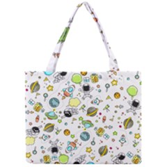Space Pattern Mini Tote Bag
