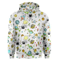 Space Pattern Men s Pullover Hoodie