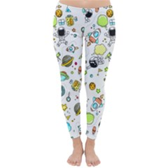 Space Pattern Classic Winter Leggings