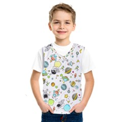 Space Pattern Kids  Sportswear