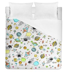 Space Pattern Duvet Cover (queen Size)