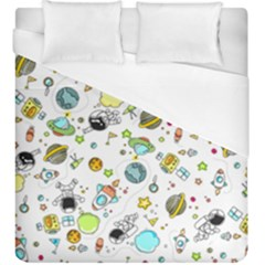 Space Pattern Duvet Cover (king Size)