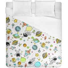 Space Pattern Duvet Cover (california King Size)