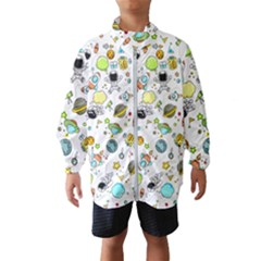 Space Pattern Wind Breaker (kids)