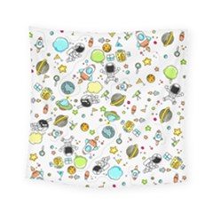 Space Pattern Square Tapestry (small)