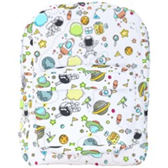 Space Pattern Full Print Backpack