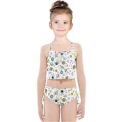 Space Pattern Girls  Tankini Swimsuit