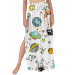 Space Pattern Maxi Chiffon Tie Up Sarong