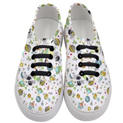 Space Pattern Women s Classic Low Top Sneakers