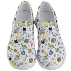 Space Pattern Men s Lightweight Slip Ons