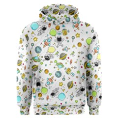 Space Pattern Men s Overhead Hoodie