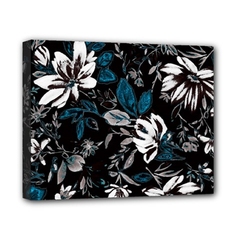 Floral Pattern Canvas 10  X 8