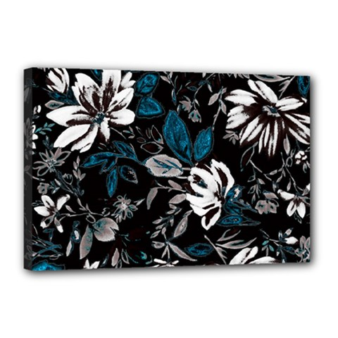 Floral Pattern Canvas 18  X 12