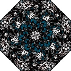 Floral Pattern Folding Umbrellas