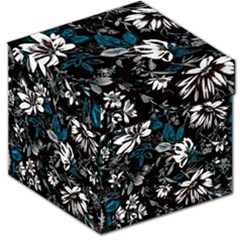 Floral Pattern Storage Stool 12