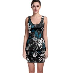 Floral Pattern Bodycon Dress