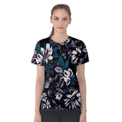 Floral Pattern Women s Cotton Tee