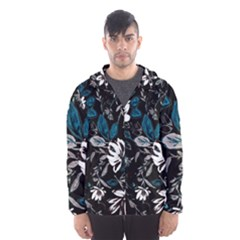 Floral Pattern Hooded Wind Breaker (men)