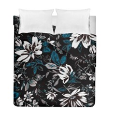 Floral Pattern Duvet Cover Double Side (full/ Double Size)