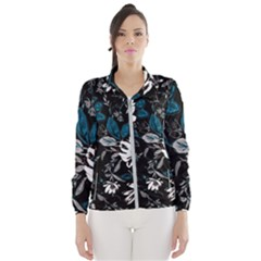 Floral Pattern Wind Breaker (women)