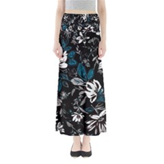 Floral Pattern Full Length Maxi Skirt