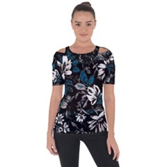 Floral Pattern Short Sleeve Top