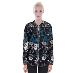 Floral Pattern Womens Long Sleeve Shirt