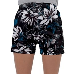Floral Pattern Sleepwear Shorts